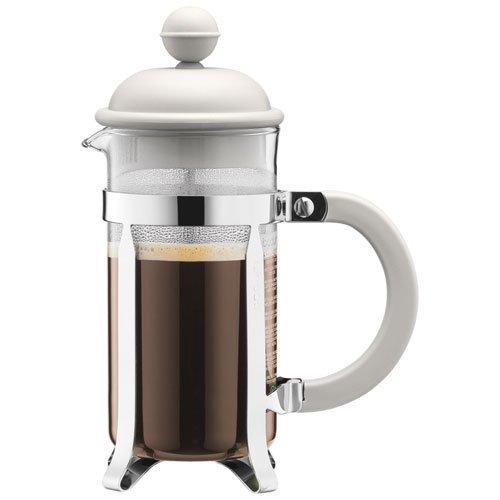 bodum caffettiera kaffeebereiter french press system permanent edelstahlfilter 0 35 liters. Black Bedroom Furniture Sets. Home Design Ideas
