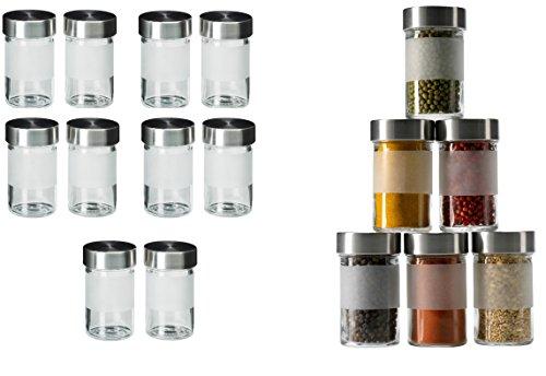 ikea gew rzglas droppar set 10 st ck glas edelstahl. Black Bedroom Furniture Sets. Home Design Ideas