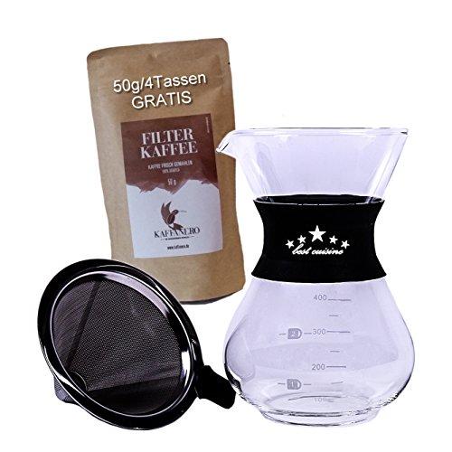 erhalten sie die aromen und le der kaffeebohne fumixtrade kaffeezubereiter mit edelstahl. Black Bedroom Furniture Sets. Home Design Ideas