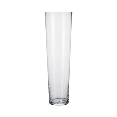 leonardo vase gro e vase bodenvase mit dickem eisboden glas konisch 60 cm k chenfertig. Black Bedroom Furniture Sets. Home Design Ideas