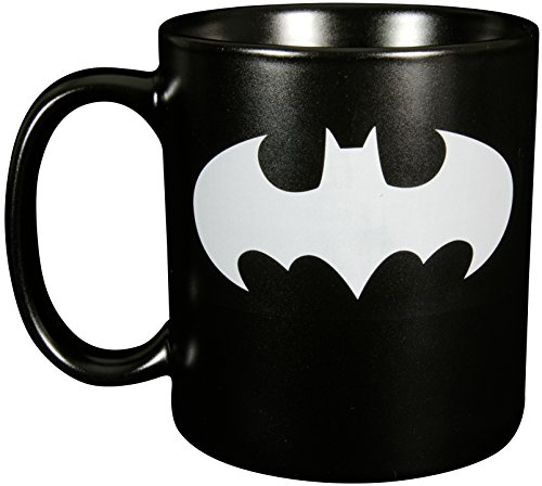 batman xxl bat symbol steingut ca 700ml 0122040 tasse keramik schwarz 16 x 11 5 x 13 2. Black Bedroom Furniture Sets. Home Design Ideas