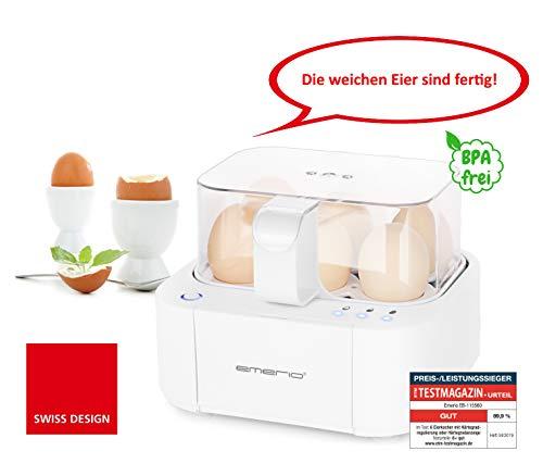 Emerio EB-115560.2 NEUHEIT in nur kocht alle drei Garstufen weich|mittel|hart