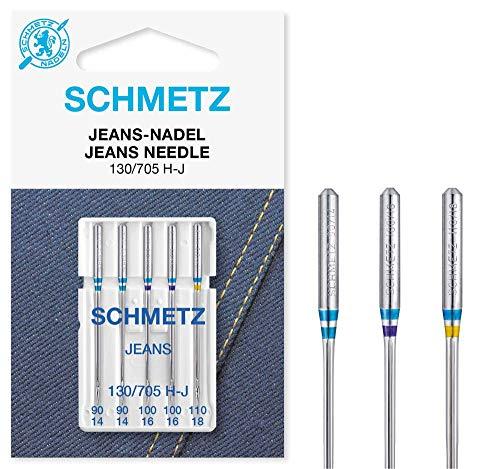 20 Schmetz Stretch Nähmaschinennadeln NM 75 Flachkolben 130//705